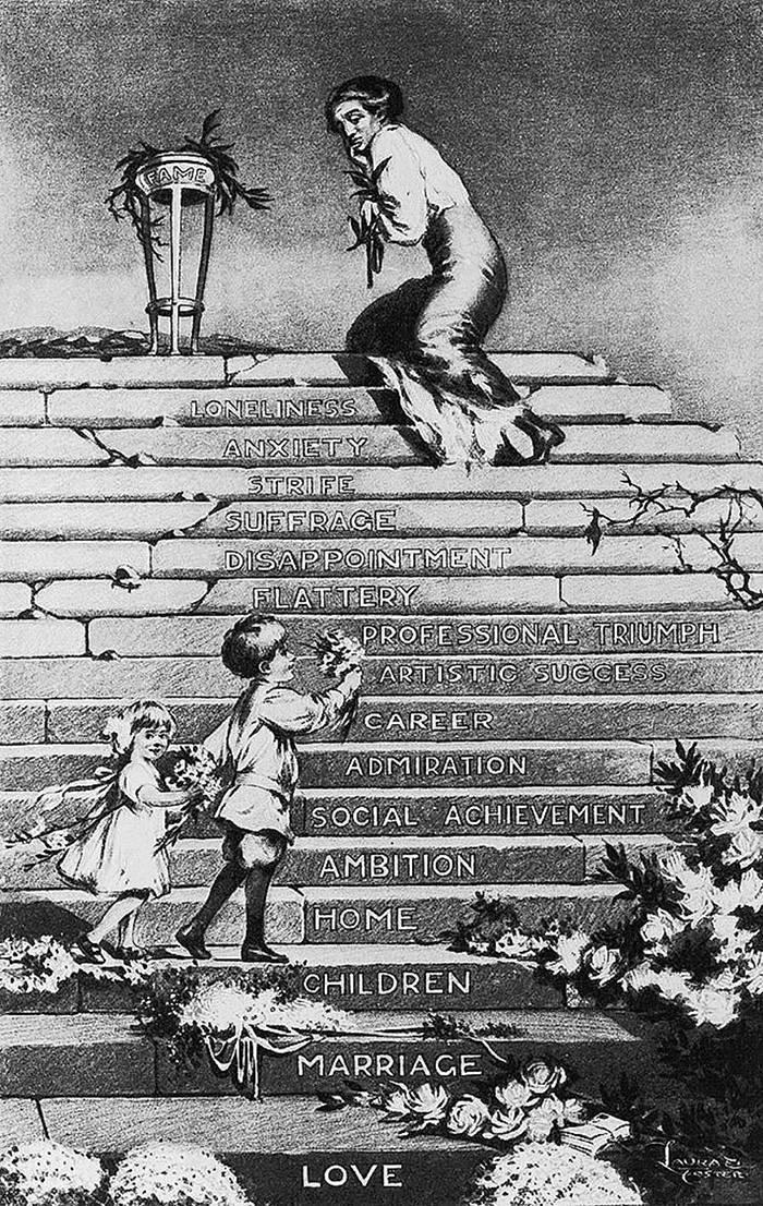 How Vintage Men Imagined Suffrage Movement