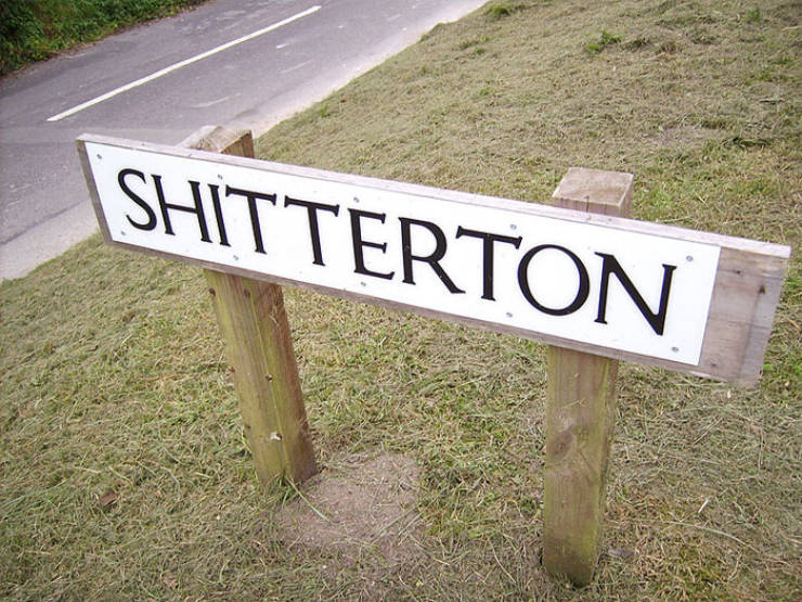 Someone In UK Had Tons Of Fun Naming These Places