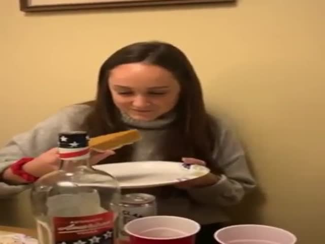 She Wanted That Pie So Bad!