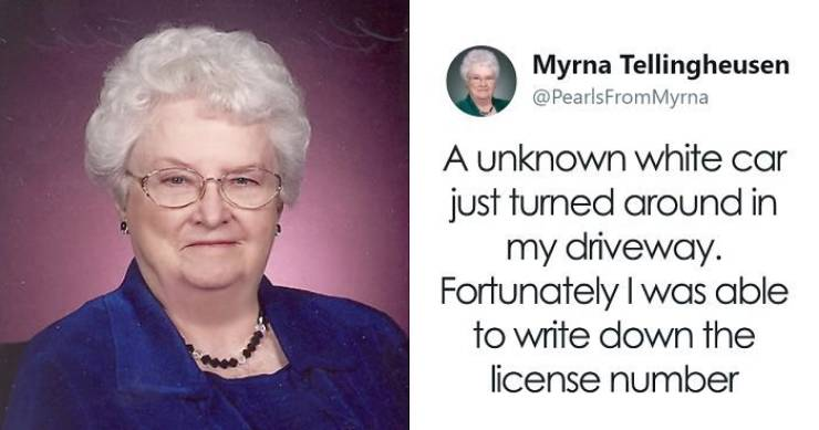"""Myrna Is A """"Real"""" Twitter Granny, Who Is Always Ready To Dish Out Some Wisdom"""
