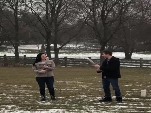 Shots Fired At A Gender Reveal