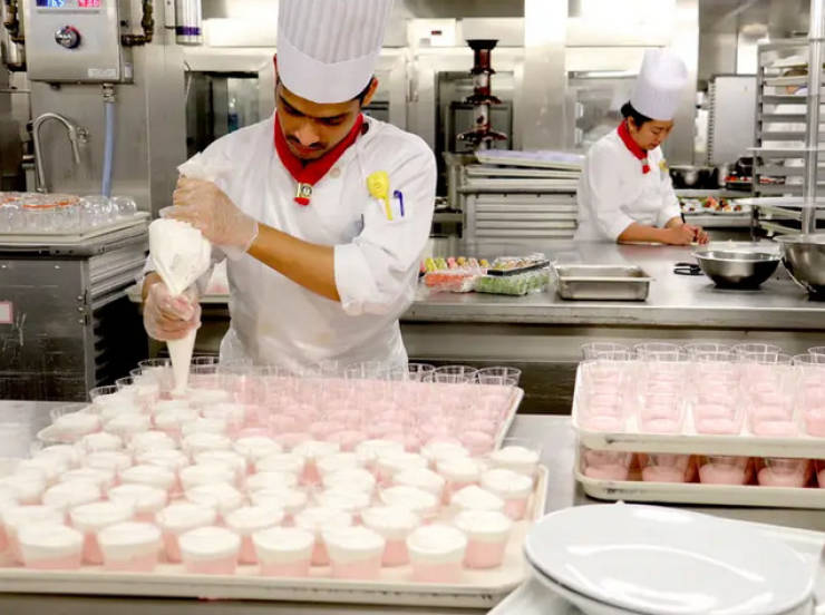 How Food Is Made On Cruise Ships