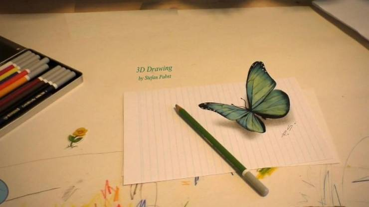 Yes, These Are Actual 3D Drawings!