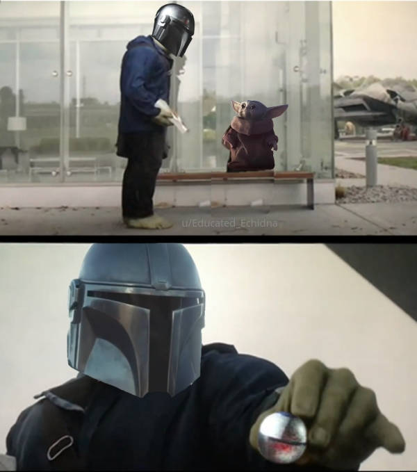 """May The Force Be With """"The Mandalorian"""" Memes"""