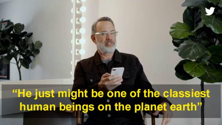 Tom Hanks Reacts To Nice Tweets, Instead Of Mean Ones