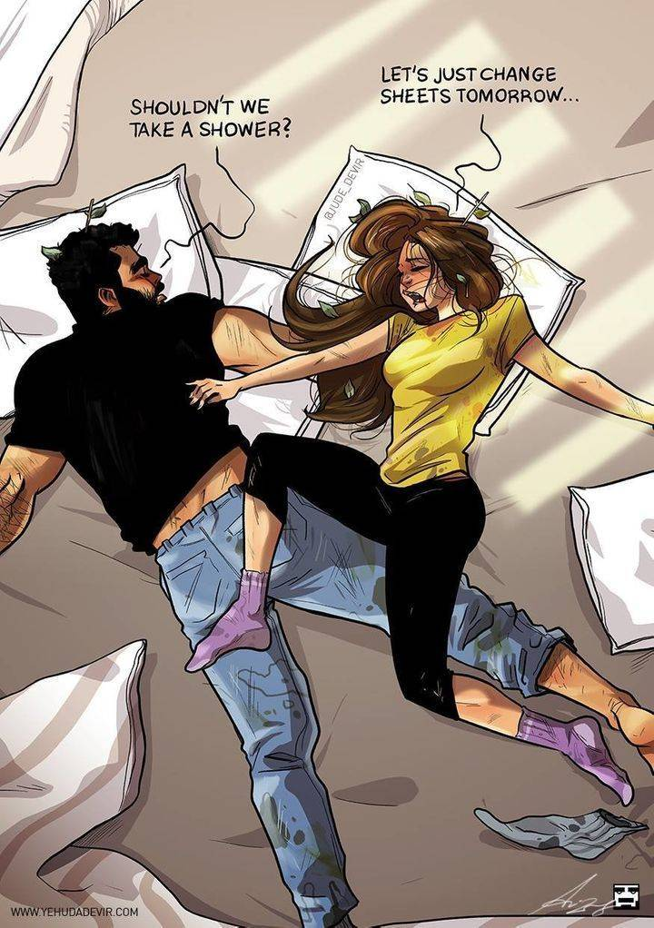 The Best And Worst Of Sleeping Together