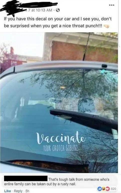 Things Anti-Vaxxers Say