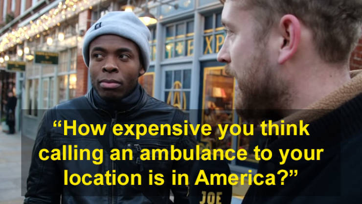 Brits Find Out Real Prices Of US Healthcare And Can't Hide How Surprised They Are