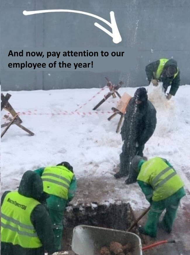 Employee Of The Year!