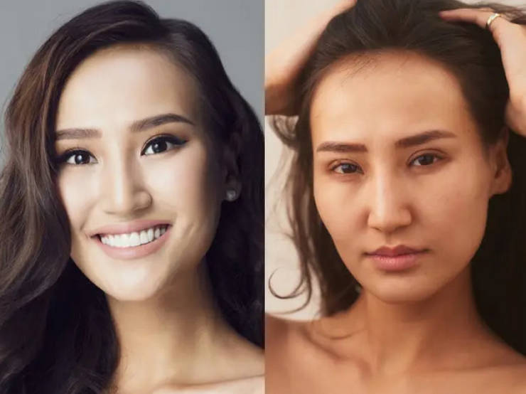 Miss Universe Contestants Without Their Makeup On
