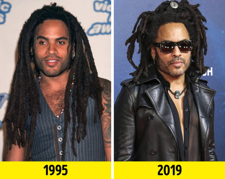 How Singers From The '90s Look Now