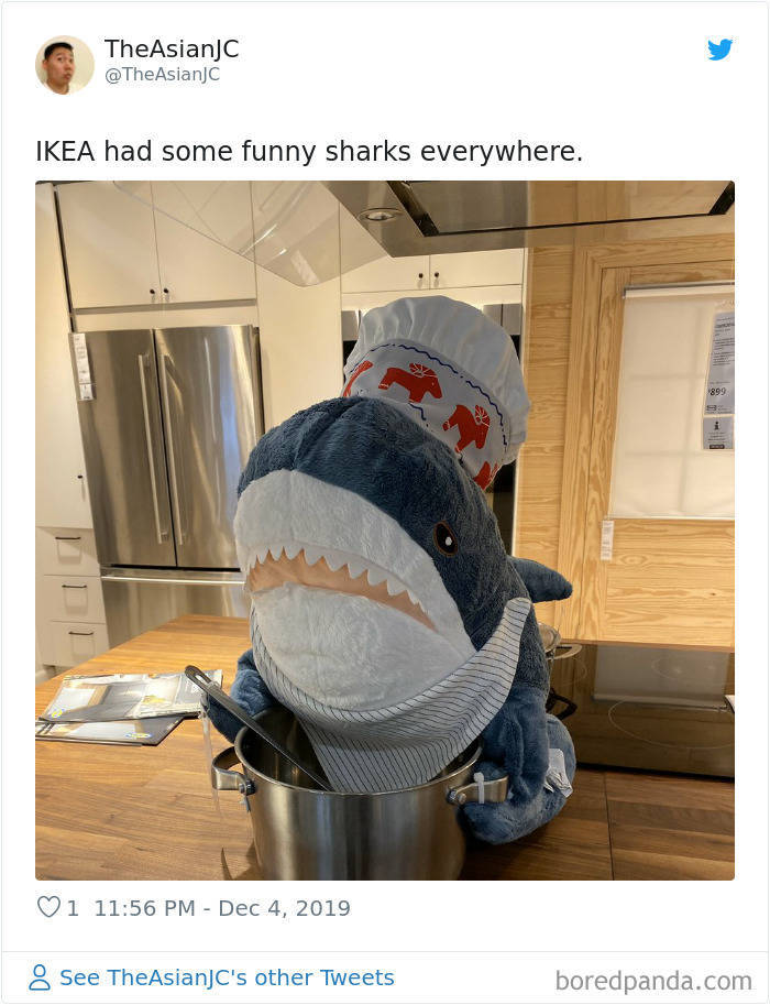 IKEA Sharks Are Humans In Disguise!