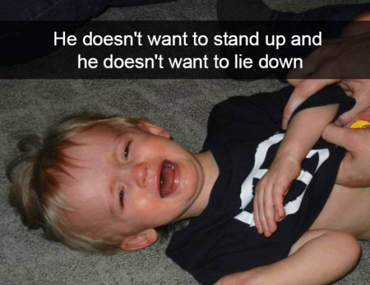 Children Just Wanna Cry, They Don't Need A Reason