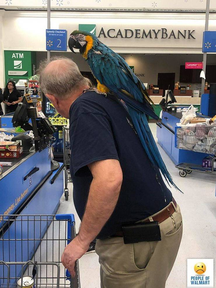 Walmart Visitors Don't Care What They Wear