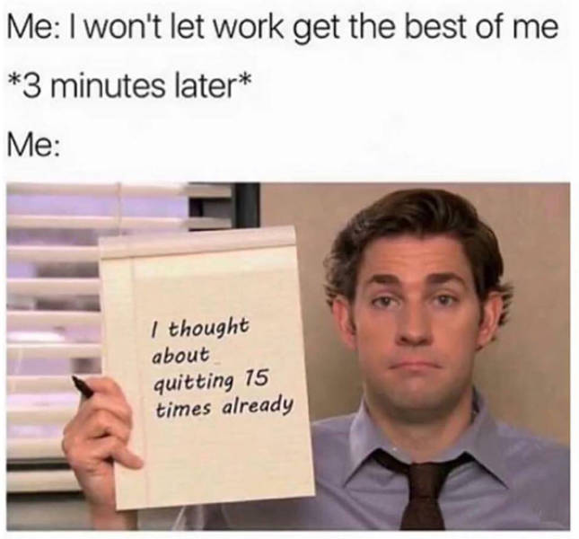 Let's Get These Office Memes Over With
