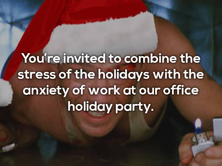 Office Holiday Party Memes Are Wild This Year!