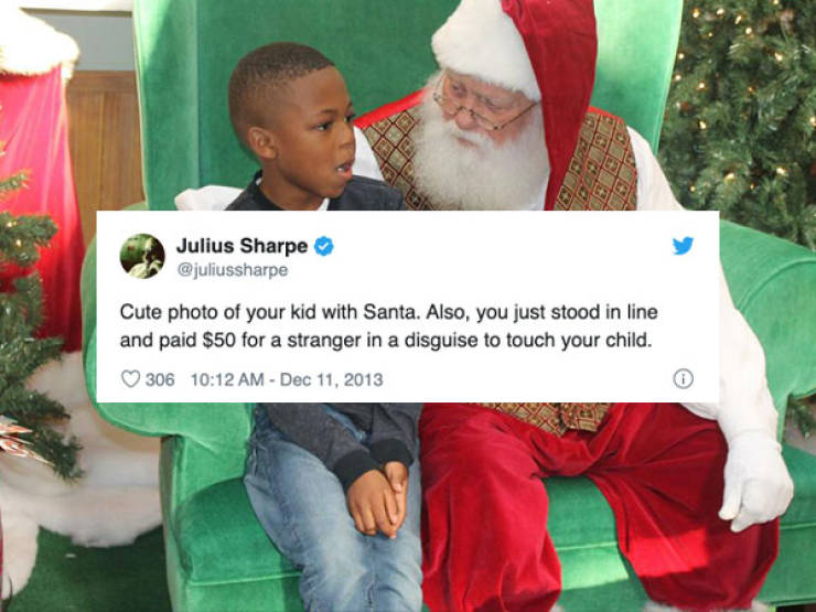 Tweets Brought To You By Santa