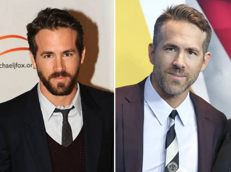 Hot Male Celebs In The 10-Year Challenge