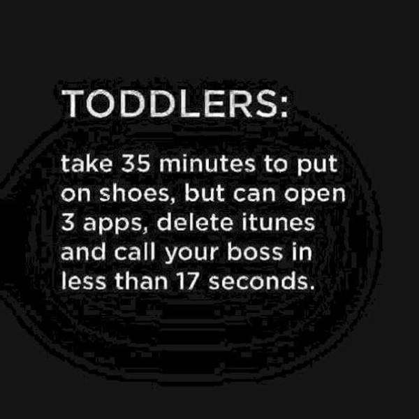 Kids Under Four Are A Special Type Of Trial