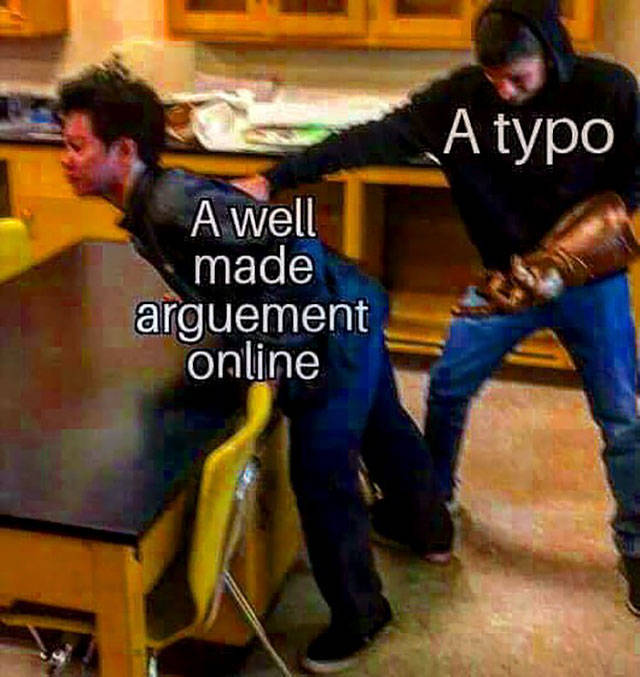 When Arguing Is Completely Pointless