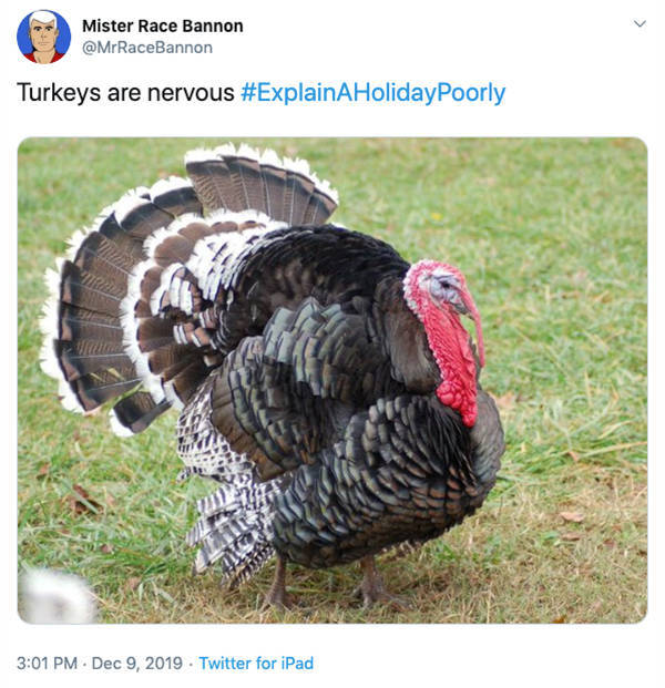 Very Poorly Explained Holidays, Indeed…