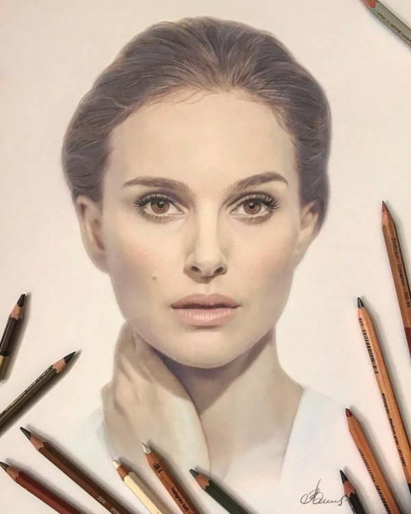 Celebrities Look Great In Hyper-Realism!