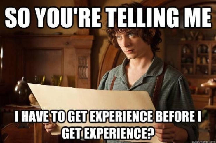 Do You Have Experience In Job Hunting Memes, At Least?