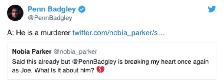 Just Celebrities Being Good At Twitter