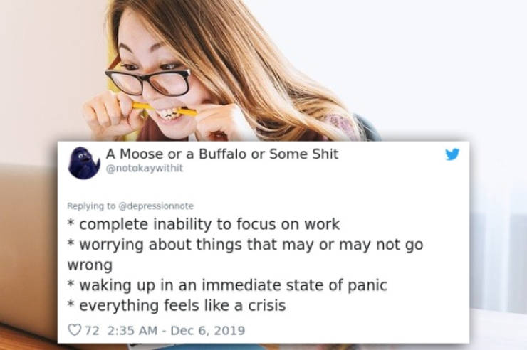 People Share All The Inner Horrors Of Having Anxiety