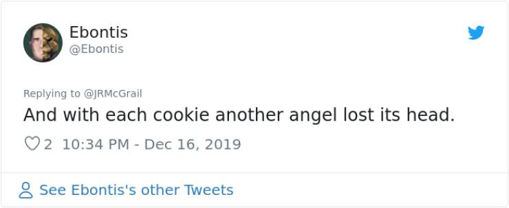 Angel Cookie? More Like Baby Yoda Cookie!