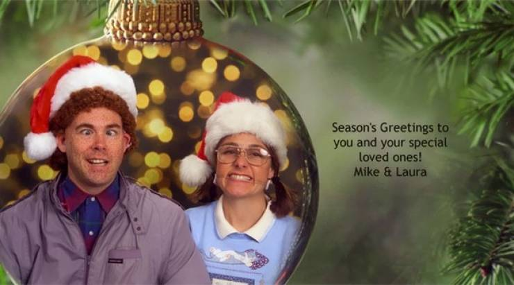 This Family Is The Best At Worst Holiday Cards!