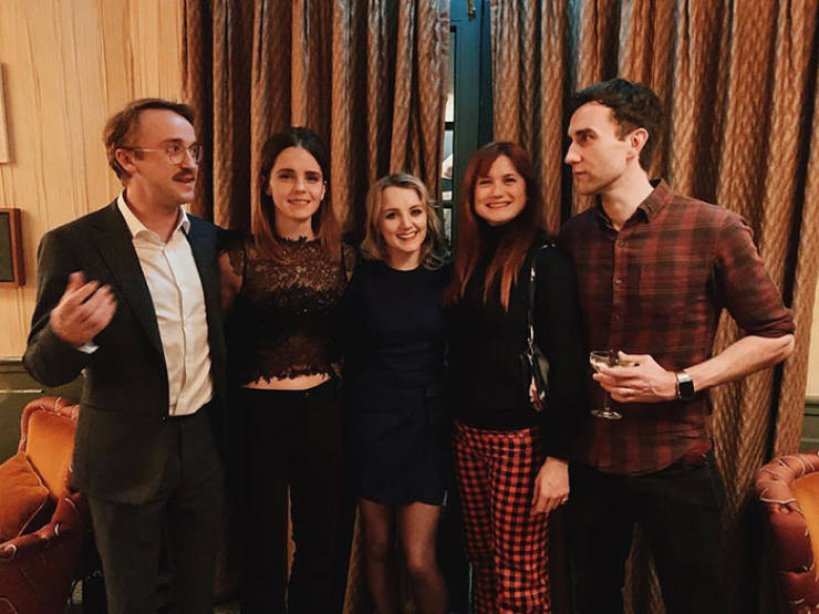 """Here Are """"Harry Potter"""" Cast Reunion Photos For Every Fan Out There!"""