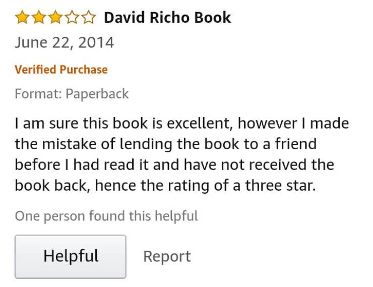 These Reviews Are Just… Wow