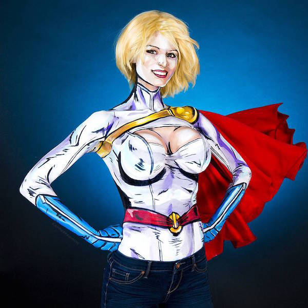 Kay Pike Is Too Good At Body Painting!