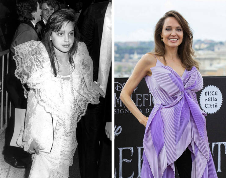 Celebs As They Entered The Red Carpet For The First Time