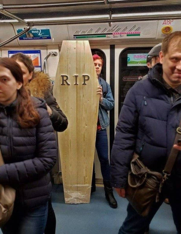 Is There Anyone Normal On The Subway?