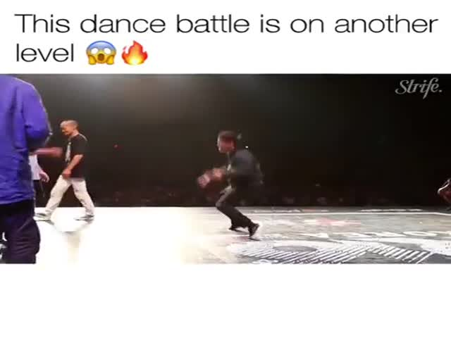 Okay, THIS Is A Dance Battle!
