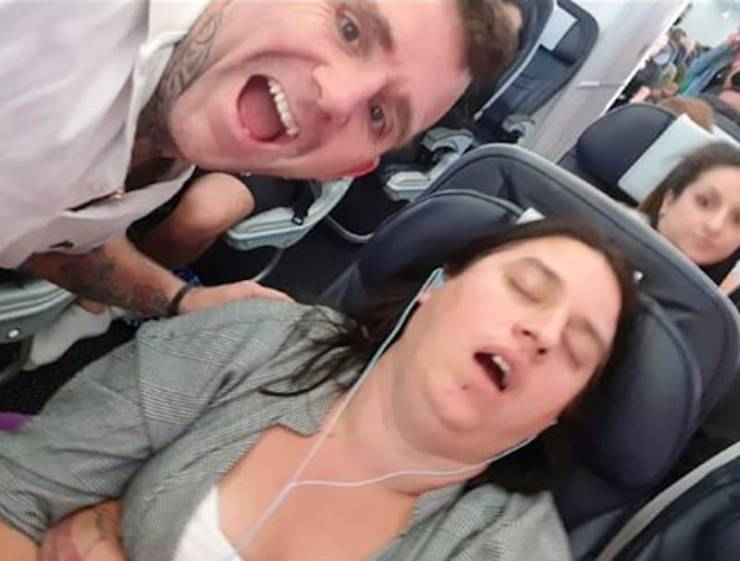 Husband Gets A Photo Of His Snoring Wife As A Tattoo, And You Can Guess Her Reaction