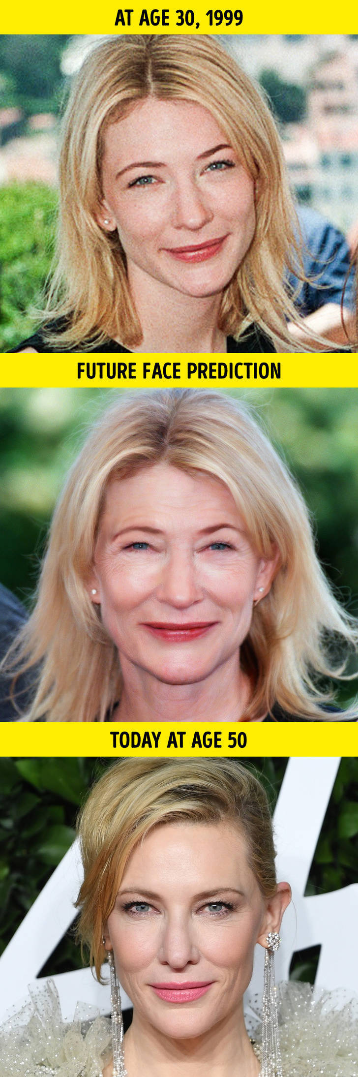 Plastic Surgeon Analyzes How Celebrity Women Should Have Looked By Now If They Aged Like Average People
