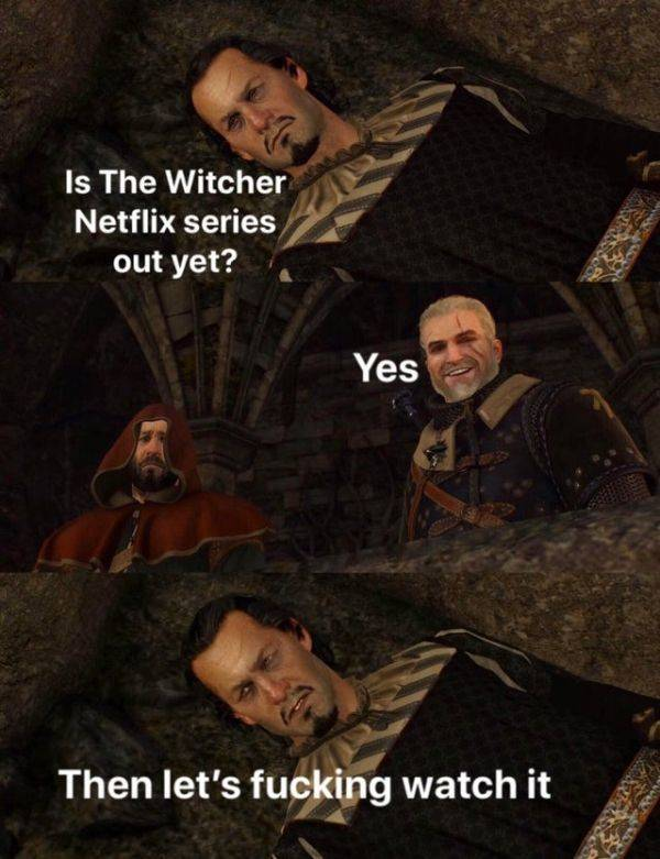 "Prepare To Binge Watch These ""The Witcher"" Memes"