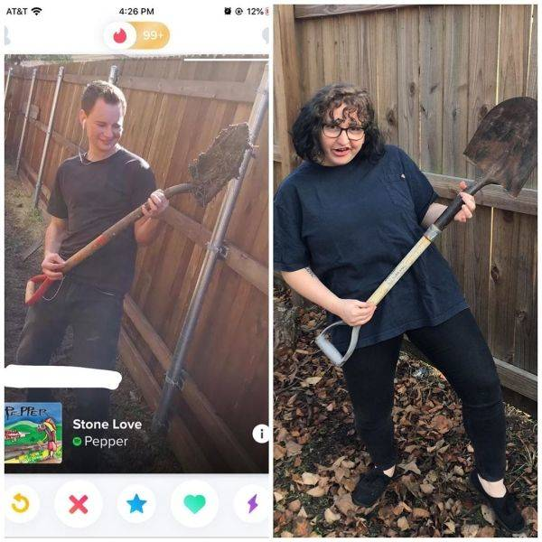 "Tina From ""Bob's Burgers"" Destroys Questionable Tinder Pics"