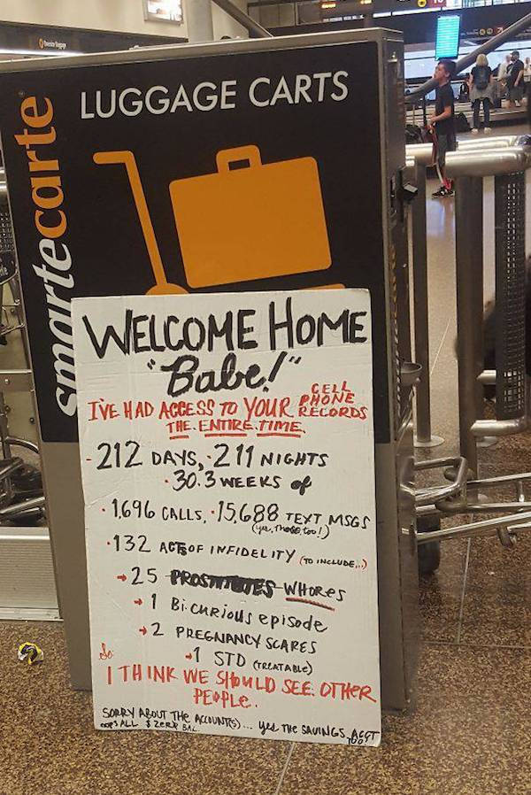 Airport Pickup Signs Are Getting Better With Every Flight!