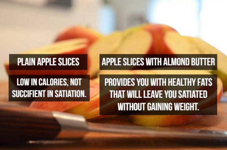 So, Let's Compare These Foods…