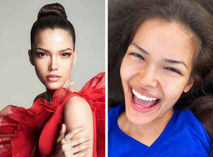 """Miss Universe"" 2019 Contestants Are Not Afraid To Leave Their Homes Without Makeup"