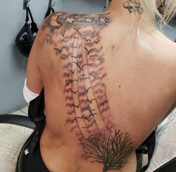 Tattoos Are Permanent, But It's Too Late For Them To Know It…