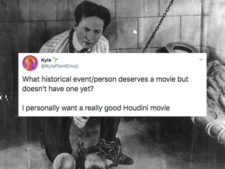 History Still Has So Many Great Movie Ideas!