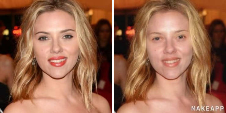 This App Filter Removes Makeup, And It's Time To Take A Look At Celebs!