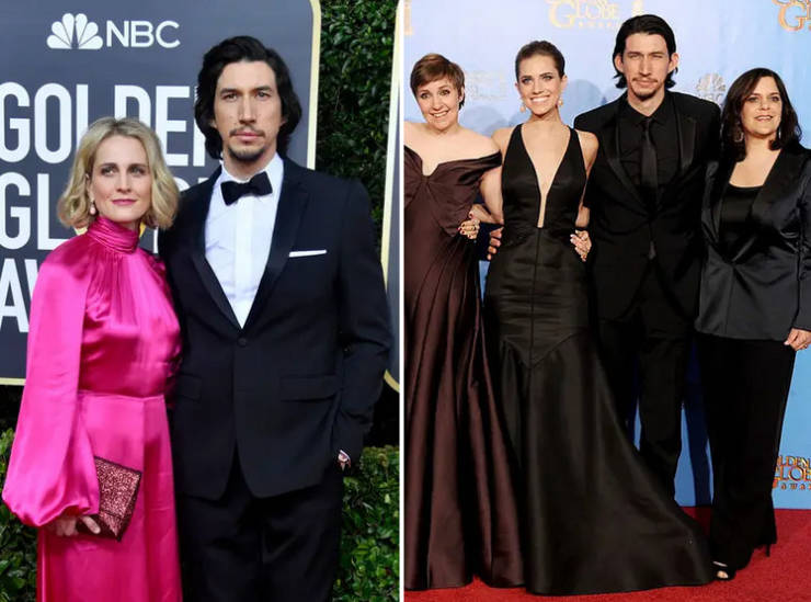 Golden Globe Nominees, Then And Now