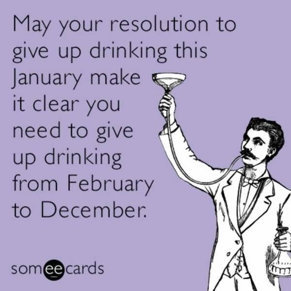 Good Luck Memes For Dry January