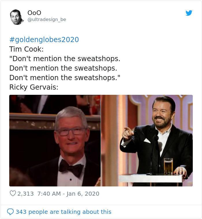 Hollywood Still Has Not Recovered From Ricky Gervais' Golden Globe Speech…